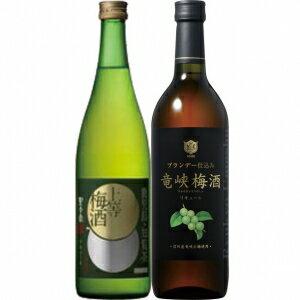 【送料無料】【ギフト品】【代引不可】本坊酒造 特選梅酒2本セット 15度