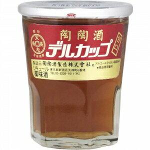 【5,000円以上送料無料】【ケース品】陶陶酒 銀印 デルカップ 甘口 50ml 12度 30本入り