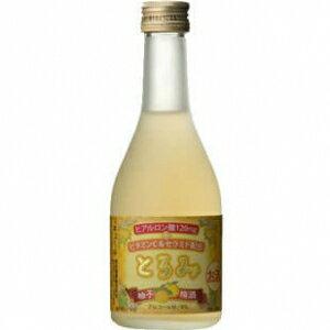 【5,000円以上送料無料】【ケース品】本坊酒造 とろみ柚子梅酒 300ml 6度 24本入り
