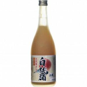 【5,000円以上送料無料】天然果汁入り 白桃酒 720ml 7度
