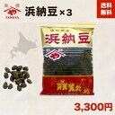 浜納豆(大サイズ) 200g 3袋入【送料無料】 [発酵調味料] 無添加大豆食品(化学調味料不使用) 塩辛納豆 国産豆鼓(トウ…
