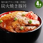 旭川産笹豚使用!豚丼セット
