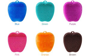 toneトーン「フットブラシ」選べる6色ブルーグリーンパープルピンクオレンジブラウン足足裏足の裏洗うケアバスグッズフットケア刺激マッサージリラックス