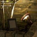 【着後レビューで選べる特典】タカショー「ソーラーハイパワーアップライト 2型」LGS-81 ソーラーライト LED 電球色 明るいハイパワータイプ 屋外 防雨製 照度センサー 自動点灯 自動消灯 ガー