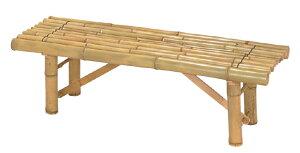 タカショー天然竹縁台「白竹縁台」庭や室内に♪