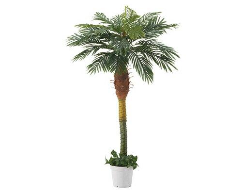 人工観葉植物 デラックスパームツリー ヤシの木 立ち木 (H180cm) 1台