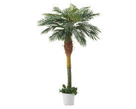 人工観葉植物 デラックスパームツリー ヤシの木 立ち木(高さ H180cm)1台 人工樹木 フェイク グリーン 造花 大型 サイズ インテリア 人気 おすすめ 店舗 風水 おしゃれ リアル 大きい 室内 椰子