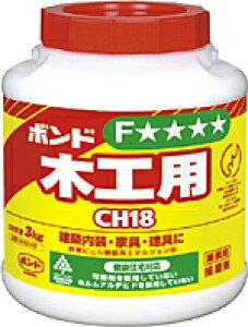 コニシボンド 木工用 CH18 3kg 6個