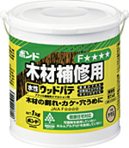 コニシボンド 水性ウッドパテ 1KG タモ白