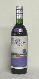 ふらのワイン 赤(720ml)香りのラベル