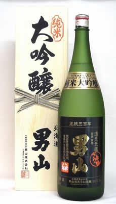 男山 純米大吟醸(1.8L)