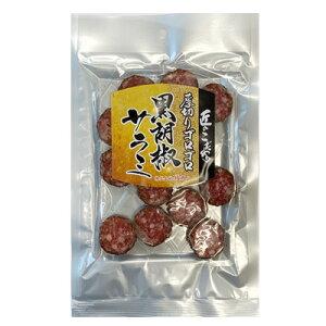【メール便送料無料】【楯岡ハム】黒胡椒サラミ/73g