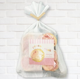 ももラスク 【食べるももトジュース使用】 桃 バレンタイン 送料込み