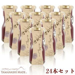 食べるブルーベリージュース【24本セット】濃縮100% 山梨県産 デザート 果物