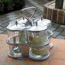 【宅配便送料無料】【あす楽】タイの屋台の調味料入れ クルワンプルーン No1