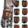 モン族刺繍巾着ショルダーポシェットポーチ