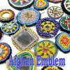 【メール便可】【直径約8cm以下】アフガニスタン装飾アフガンビーズワッペンいろいろアンティーク品No241〜250