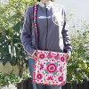【宅配便送料無料】モン族ショルダーバッグ刺繍正方形NEW