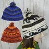 【メール便可】新着!!Newカラー♪ネパール製ウールのニット帽ボンボン付き