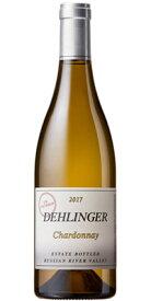 """デリンガー (デリンジャー) シャルドネ """"アンフィルタード エステート"""" ルシアン リバー ヴァレー [2017] (正規品) Dehlinger Chardonnay Unfilterd Estate Bottled [白ワイン][アメリカ][カリフォルニア][ソノマ][750ml]"""