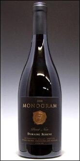 """""""Monogram"""" (serene) Domaine Serene Pinot Noir Pente [2011] (genuine) Domaine Serene Monogram"""