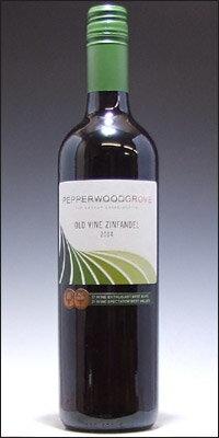 """ペッパーウッド・グローヴ ジンファンデル """"オールド・ヴァイン"""" カリフォルニア [2015] (正規品) Pepperwood Grove Old Vine"""