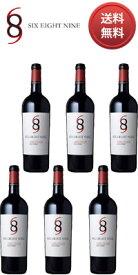 【送料無料】【正規品】【箱買い】 シックス エイト ナイン (689) セラーズ レッド ワイン ナパ ヴァレー [1/2ケース(6本)/現行年] (正規品) Six Eight Nine (689) Cellars [赤ワイン][アメリカ][カリフォルニア][ナパバレー][750ml×6]