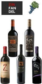 全米ジンファンデル売上高TOP5(マイケル デイヴィッド セブン デッドリー ジンズ/ナーリー ヘッド/ボーグル/OZV/レーヴェンズウッド) 5本セット (正規品) Michael David/Gnarly Head/Bogle/OZV/Ravenswood [赤ワイン][アメリカ][カリフォルニア]