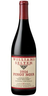 """ウィリアムズ・セリエムピノ・ノワール""""セリエム・エステート""""[2016]/""""バート・ウィリアムズ・モーニング・デュー""""[2016]/""""ロキオリ・リヴァーブロック""""[2003]WilliamsSelyemPinotNoir"""