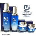 【送料無料】GUNA 化粧水・乳液・クリーム・目元用クリーム4点セット【RCP】(20Z)