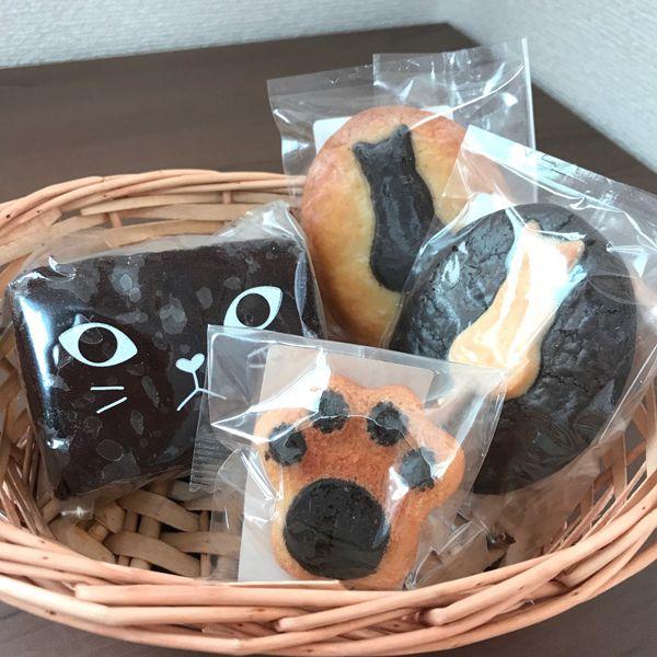 【ギフト】【引っ越し】【お返し】【お祝い】【誕生日】【クッキー】【ブラウニー】洋菓子詰め合わせ 黒ねこBOX【猫】【プレゼント】【内祝い】