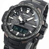 PRW-6100YT-1JF Casio protrek CASIO PRO TREK wave solar radio watch watches mens whole tough solar