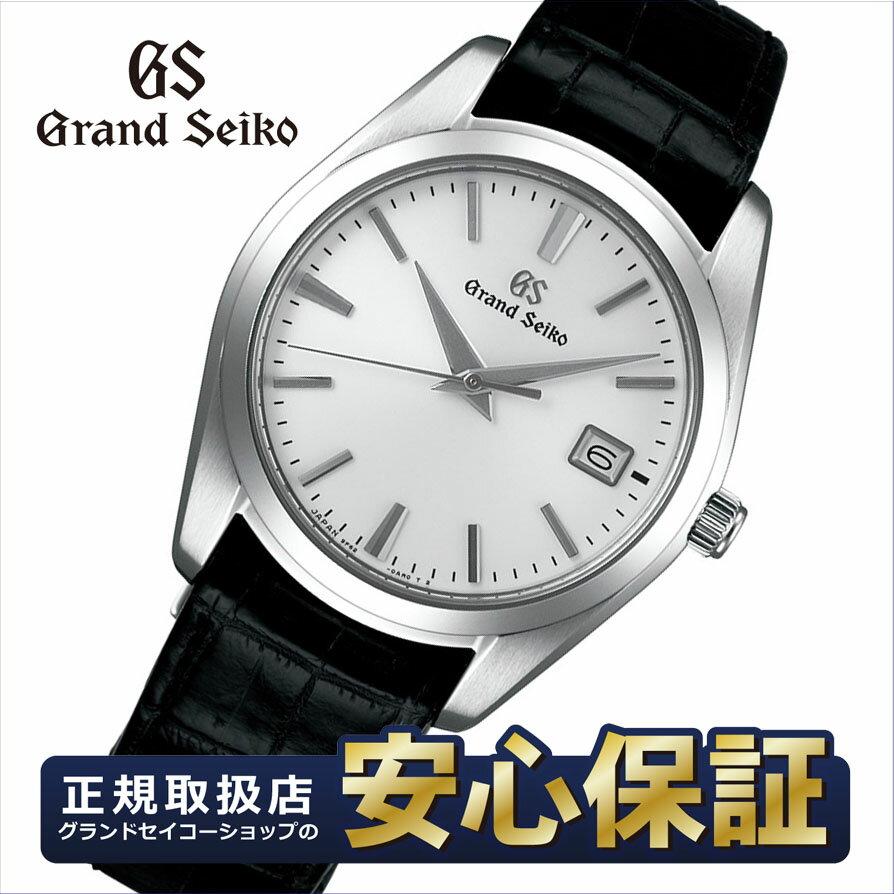 【今なら最大1万円OFFクーポンでさらにお得!】【当店だけのSEIKOノベルティ付き!】グランドセイコー SBGX295 クオーツ 9F62 37mm クロコダイル ストラップ メンズ 腕時計 セイコー Grand Seiko 【正規品】NLGS_10spl