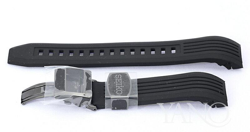 セイコー アストロン SBXB143用シリコンバンド 金具ブラック 8Xシリーズ対応品【R01Z011M0】【お取り寄せ・受注品】※ご利用はクレジットカード決済・銀行振込決済に限ります。【店頭受取対応商品】