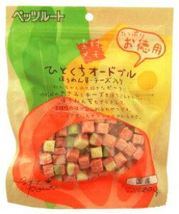 ペッツルート 素材メモ ひとくちオードブル ほうれん草・チーズ入りお徳用 200g