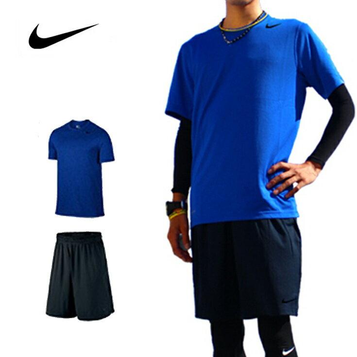 ナイキ ランニングウェア メンズ セット 2点(半袖 Tシャツ パンツ )上下 男性用 ジョギング ウォーキング スポーツ フルマラソン 初心者 入門 NIKE 福袋