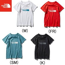 ノースフェイス THE NORTH FACE S S GTD Logo Crew ショートスリーブGTDロゴクルー ランニングTシャツ 半袖 ウィメンズ レディース 女性 陸上・ランニング用品