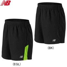 NewBalance nyubaransuakuserereitoinnaresu 7英寸短褲跑步用運動褲人/男性田徑、跑步用品