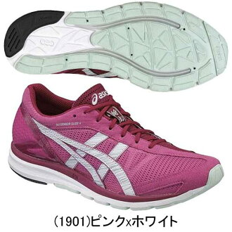 ASICS ASICs LADY SKYSENSORGLIDE4 Lady skaisencergraid 4 running shoes women women's athletics and running equipment