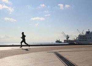 ストレッチジョガーパンツメンズ10分丈ロングランニングマラソントレーニング男性テーパードparppyパーピー