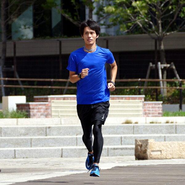 ナイキ ランニングウェア メンズ セット 4点 ( 半袖Tシャツ パンツ タイツ ソックス )上下 男性用 ジョギング ウォーキング スポーツ フルマラソン 完走 初心者 入門 NIKE 一式 紳士 福袋