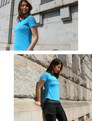 アディダスランニングウェアレディースセット4点(半袖Tシャツ+パンツ+タイツ+ソックス)adidasおしゃれ初心者マラソンかわいい上下女性ジョギングスポーツウォーキングUVカットフィットネススパッツレギンス靴下福袋夏