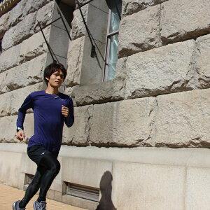ミズノランニングウェアメンズセット3点(半袖Tシャツ+パンツ+タイツ)MIZUNO初心者上下男性ジョギングフルマラソンウォーキング福袋スポーツ