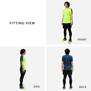 ニューバランスランニングウェアメンズセット4点(半袖Tシャツパンツタイツソックス)NewBlance初心者上下男性おしゃれジョギング靴下スポーツフルマラソントレイル福袋春