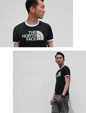 ノースフェイスランニングウェアメンズセット3点(半袖Tシャツパンツタイツ)上下セットアップ男性用福袋春
