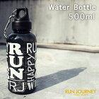クリアボトル500ml水筒プラスチックおしゃれカラビナ付直飲みアウトドアタンブラーランニングトレイル登山トレッキングジョギングマラソンスタイリッシュ軽い軽量