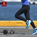 レディース骨盤サポートランニングタイツロング段階着圧美脚女性マラソンジョギングインナーコンプレッションレギンススパッツUVカット防臭ダイエットparppyパーピー