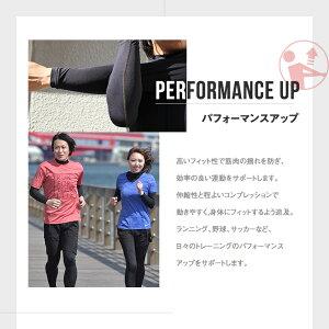 ランニングアンダーシャツ長袖ハイネックコンプレッション着圧メンズレディースマラソンジョギングウォーキングスポーツ男女兼用インナーウェア吸汗速乾UVカット