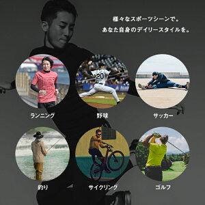ランニングアンダーシャツ長袖ハイネックコンプレッション着圧メンズレディースマラソンジョギングウォーキングスポーツインナーウェア吸汗速乾UVカット