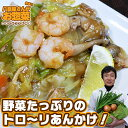 【具だくさんあんかけ焼きそば】 八百屋さんが作るお惣菜の手作り中華惣菜、お取り寄せでも人気だよ!湯煎で簡単調理!